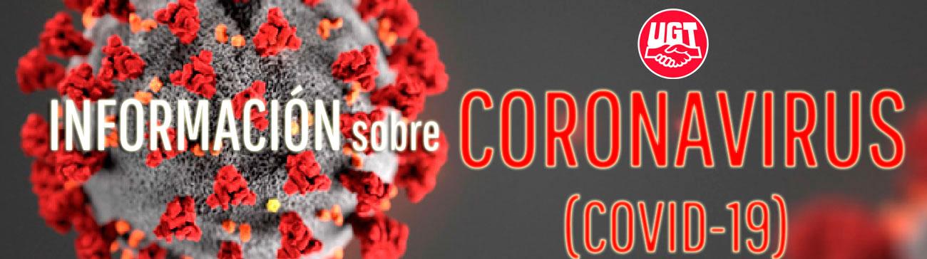 Información de interés sobre el coronavirus | UGT