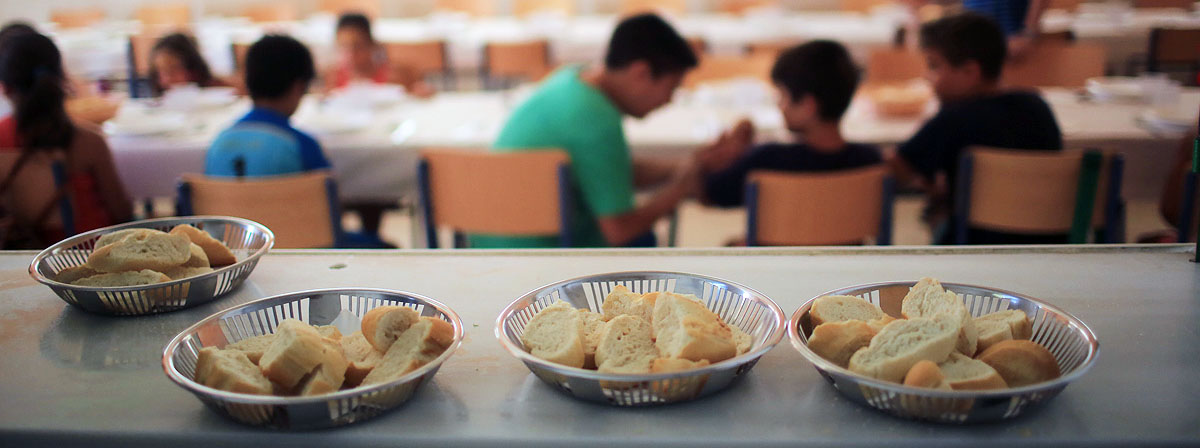 Los comedores escolares, una medida de emergencia ante la ...