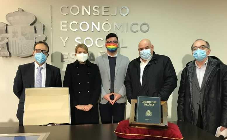Se constituye la nueva composición del CES con la toma de posesión de los nuevos consejeros. Luis Lozano Mercadal nombrado Consejero CES