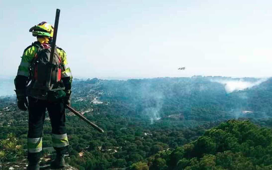 UGT exige trabajos estables y seguros en el sector forestal para evitar incendios y accidentes laborales